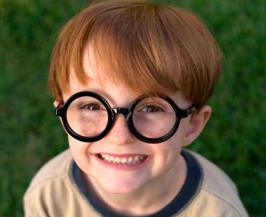 Correción del estrabismo con gafas